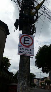 Português em Placas: Você conhecia esta placa? Não? nem eu...