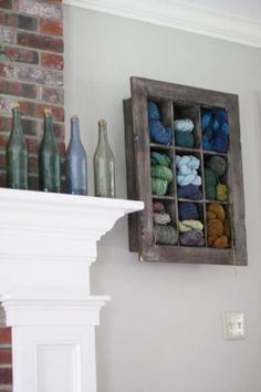 podkins: Yarn Stash as Art
