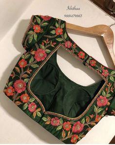Indian Blouse Designs, Blouse Back Neck Designs, New Saree Blouse Designs, Simple Blouse Designs, Stylish Blouse Design, Sari Blouse, Latest Blouse Designs, Saree Blouse Patterns, Lehenga