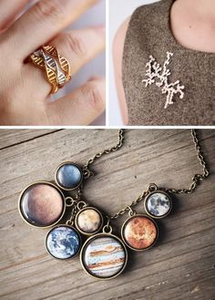 25+ Pieces of Science Jewelry Celebrating the Wonders of the Universe