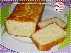 Pão de forma, pão sem sovar a massa