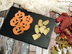 Des frites citrouilles et petits fantomes specialement pour Halloween!