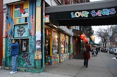 Love Saves the Day - this store was in the movie - Desperately Seeking Susan with Madonna & Rosana Arquette