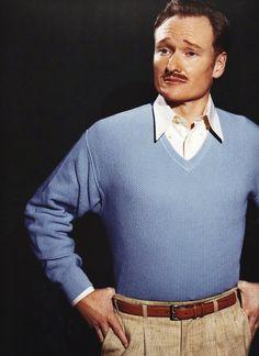 debonair Conan O'Brien