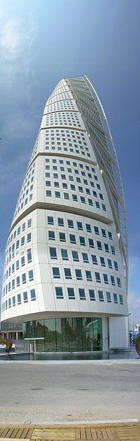"The "" Turning Torso "" in Malmö (Sweden) by Santiago Calatrava ..."