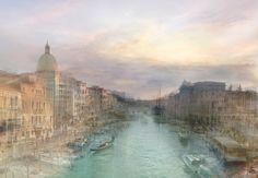 • Hiroyuki Masuyama   1840-2010, Venezia. After J.M.W. Turner. Estremità superiore del Canal Grande con San Simeone Piccolo. Crepuscolo.
