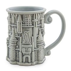 Cinderella Castle Mug - Walt Disney World   Disney StoreCinderella Castle Mug - Walt Disney World - Now you can drink-in all the fantasy of the Magic Kingdom at home with this sculptured souvenir mug. The turrets of Cinderella Castle have been topped off to create a coffee cup to help dream the day away!