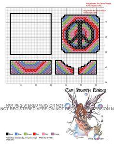 Peace Sign Coasters
