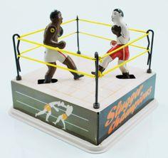 Juguete de boxeo.