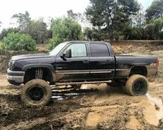 Jacked Up Chevy, Lifted Chevy Trucks, Chevy Silverado, 4x4, Monster Trucks, Vehicles, Cars, Autos, Car