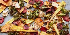 5 ways with vegetable crisps