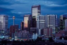 Photo about Downtown of Calgary, Alberta, Canada. Image of alberta, street, towerblock - 2099366 Oh The Places You'll Go, Great Places, Beautiful Places, Places To Visit, Ottawa, Calgary, Cruise Packages, Belle Villa, Alaska Cruise