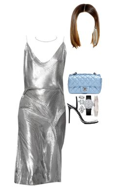 """""""At a nightclub with friends"""" by nytown ❤ liked on Polyvore featuring Vacheron Constantin, Alexander Wang, Chanel, Mattia Cielo, Hermès and Blue Nile"""