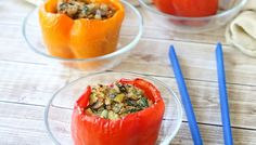 Spicy Quinoa Stuffed