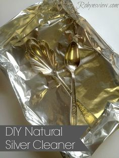 DIY Silver Polish If you are like me and you own silver cutlery, silver jewelry, or even antique silver pieces, you want to be sure you are taking proper ca