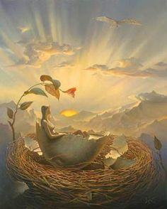 Birth of Love, Vladimir Kush