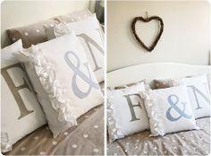 sunny bedroom cushions