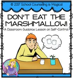 Teach kids how to develop self-control by challenging them to the famous marshmallow test. The marshmallow test was first administered at Stanford University by psychologist, Dr. Walter Mischel. The experiment was designed to study the characteristics of children who could delay gratification when offered the choice between one small reward given to them immediately or