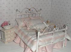 Bedspread,Colcha shabby-miniature