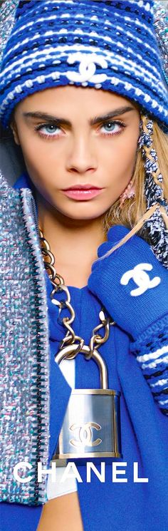 Show Off! Designer Jewellery  Chanel Accessories Fall/Winter 2014-2015 Cara Delvingne