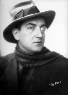 "Fritz Lang, Early German (Austrian actually) director known for Metropolis and the controversial movie ""M"" as well as many other exceptional films"