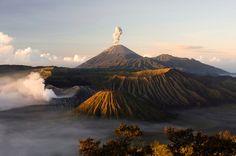Monte Bromo, na Indonésia