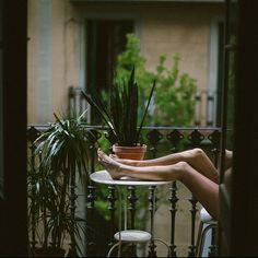 Café, balcón y @lalovenenoso