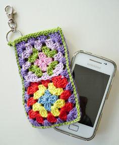 Gehaakt iPhone/Smartphone Hoesje Lieke
