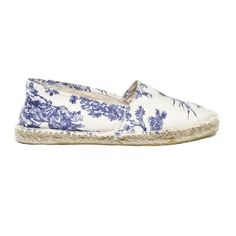 Toile de jouy espadrilles  How do I buy these? Can't figure it out. @Maggie Moore Smith look at these