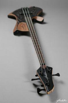 Bass of the Week: Padalka Guitars Ennea Hotchkiss Bass … Guitar Logo, Guitar Tattoo, Music Guitar, Guitar Amp, Cool Guitar, Acoustic Guitar, Custom Bass, Custom Guitars, Left Handed Bass