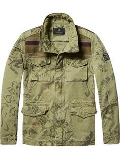 Camouflage Jacket | Inbetween jackets | Men Clothing at Scotch & Soda