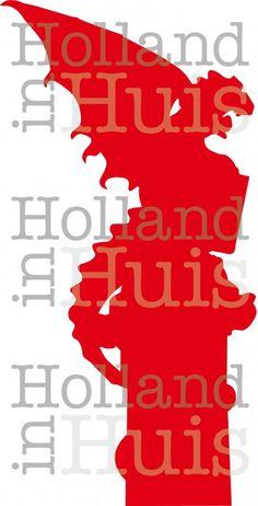 Silhouet De Draak   Bossche silhouetten   Holland in Huis, ongewoon oer-Hollands