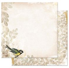 Bo Bunny - Trail Mix Collection - 12 x 12 Double Sided Paper - Field Journal at Scrapbook.com