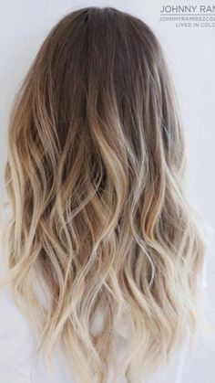 Blonde Ombre Highlights