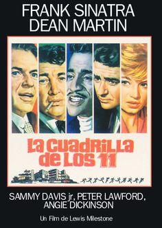 La cuadrilla de los once (1960) EEUU. Dir: Lewis Milestone. Thriller. Comedia - DVD CINE 526