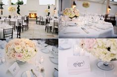 36 St Regis Monarch Beach Wedding Club 19 White Blush Flowers