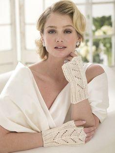 Wedding Belle Lace Gloves (Knit)