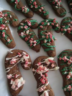 Cooking With Karyn: Chocolate Candy Cane Cookies