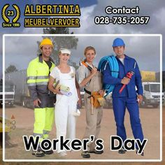 Today we celebrate Workers Day! It's a celebration of all the workers out there - a safe work environment brings a safe worker! Enjoy your public holiday! Workers Day, Free Quotes, Celebration, Environment, Public, Bring It On, Holiday, Vacations, Holidays