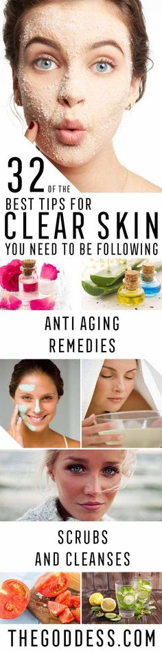 Best Tips for Clear Skin You Need To Be Following - Check Out These Step By Step Tips and Tricks For Clear Skin. Are You Looking for Tips For Acne Scars or Home Remedies or Products For Beauty and Skincare? These Are The Best Ideas And Tutorials For How