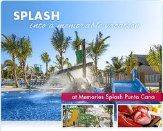 Memories Splash Punta Cana, Unique Vacations, Future Travel, Dominican Republic, Top Rated, Abundance, How To Memorize Things, Luxury, Outdoor Decor