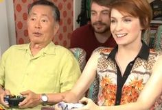 Oh my! George Takei loses gaming virginity to Felicia Day via @CNET