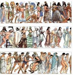 Milo Manara - History of Humanity. Wonderful artwork by Milo Manara, depicting human history. Sex, war to gain sex, more war to gain riches to have more sex. Manado, Graphic Design Illustration, Illustration Art, Manara Milo, Serpieri, History Timeline, Illustrations, World History, Erotic Art