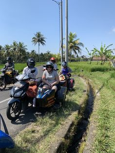 The best way to experience Ubud is in a sidecar. We got to see, hear and smell our way around Ubud. Fantastic.