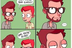 26 Things Most Glasses Wearers Secretly Wish They Could Do Glasses Meme, Eyes Watering, Wearing Glasses, Growing Up, Make It Yourself, Memes, Funny, How To Wear, Stupid