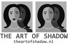 Wat is schaduwwerk en hoe passen wij dit toe bij The Art of Shadow? Schaduwwerk is het proces van het erkennen en accepteren van de verborgen delen van je persoonlijkheid. Bij schaduwwerk worden die verborgen, onzichtbare delen de schaduw genoemd. En het is juist in die schaduw waar onze niet opgeëiste kracht verborgen ligt. Carl Jung, Yin Yang, Persona, Movie Posters, Film Poster, Billboard, Film Posters