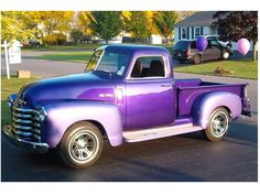 love purple and this truck