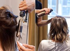 Considering a new look? Try a Lob! Here's how to keep up the trendy hairstyle @InStyle Magazine #oribehair #dry