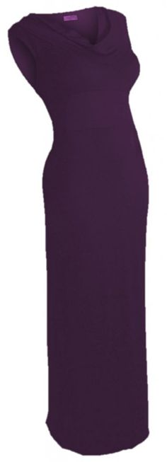 U ARe! Fashions Women's Full Length Sleeveless Cowl Neck Maxi -- Tried it! Love it! Click the image. : Evening dresses