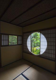日本家屋、茶室、畳/Japanese tea room